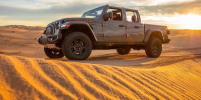 Jeep Gladiator Mojave: il primo pick-up Desert Rated