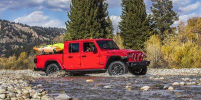 Jeep Gladiator è il pick-up dell'anno 2020 in America