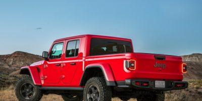 Jeep Gladiator: la Wrangler diventa pick-up