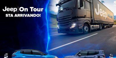 Jeep On Tour 2021. Ai posti di partenza per il Truck Jeep