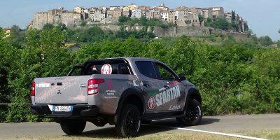 Mitsubishi L200, il pick-up della Spartan Race Italy 2019