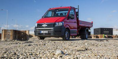 MAN TGE: trazione integrale disponibile anche per le versioni da 5 e 5.5 ton