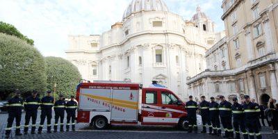 Un MAN TGE per i Vigili del Fuoco del Vaticano