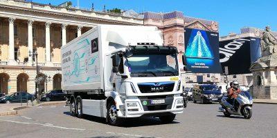 MAN, al via la produzione del camion elettrico eTGM