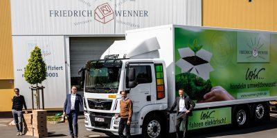 Friedrich Wenner GmbH sceglie il MAN eTGM