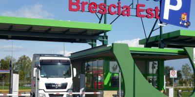 Autoparco Brescia Est, caffè e doccia gratis ai trasportatori