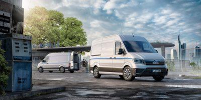 MAN eTGE: foto e dati del furgone elettrico tedesco