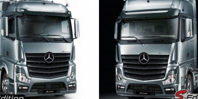Mercedes Actros: due versioni solo per l'Italia
