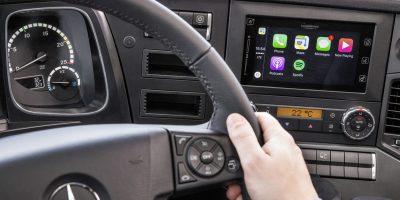 Mercedes Trucks: arriva Apple CarPlay (e non solo)