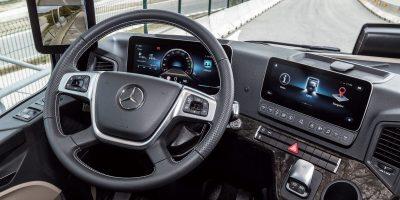 Mercedes-Benz Actros: domande e risposte sull'abitacolo multimediale