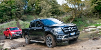 Mercedes Classe X 350 d 4Matic, pick-up a tutta potenza