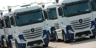 60 Nuovi Mercedes-Benz Actros per Italtrans