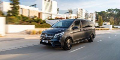 Mercedes Classe V e il sistema di sospensioni pneumatiche AIRMATIC