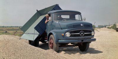Camion Mercedes: 60 anni fa il primo truck a muso corto