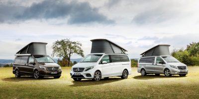 Mercedes al Salone del Camper 2018 di Parma