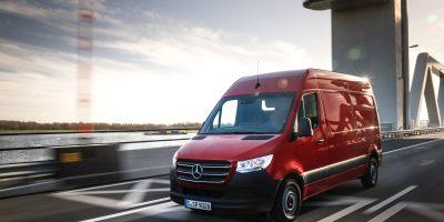 Mercedes Sprinter: un premio per la connettività