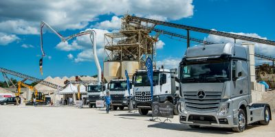 Mercedes Trucks al Weekend del Camionista di Misano Adriatico