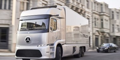 Mercedes a Transpotec Logitec 2017