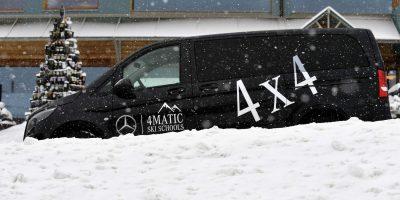 Mercedes Van 4×4: i segreti di Vito Tourer e Sprinter