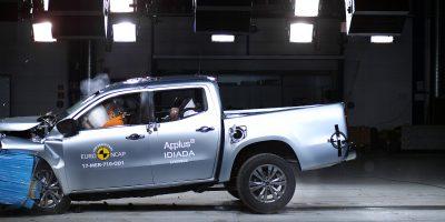 Mercedes classe X: un pick-up a cinque stelle (Euro NCAP)