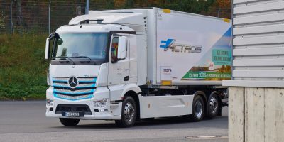 Mercedes eActros, sperimentazione ad Amburgo