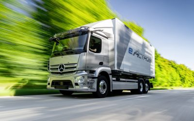 Mercedes eActros: al via la produzione in serie per il 2021