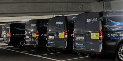 Mercedes: 10 eVito per le consegne di Amazon a Monaco di Baviera