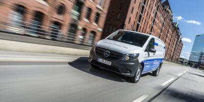 Mercedes eVito e eSprinter: il test drive dei due veicoli elettrici