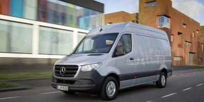 Mercedes-Benz Sprinter: nuovo motore e comfort più elevato