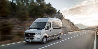 Mercedes-Benz Sprinter: rinnovata la tecnologia di guida