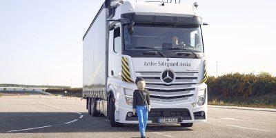 Mercedes-Benz Trucks per una maggiore sicurezza sulla strada