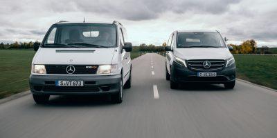 Auguri Mercedes-Benz Vito. Il restyling per il 25° anniversario