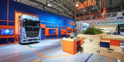 Fleetboard al Transport Logistic 2019 di Monaco di Baviera