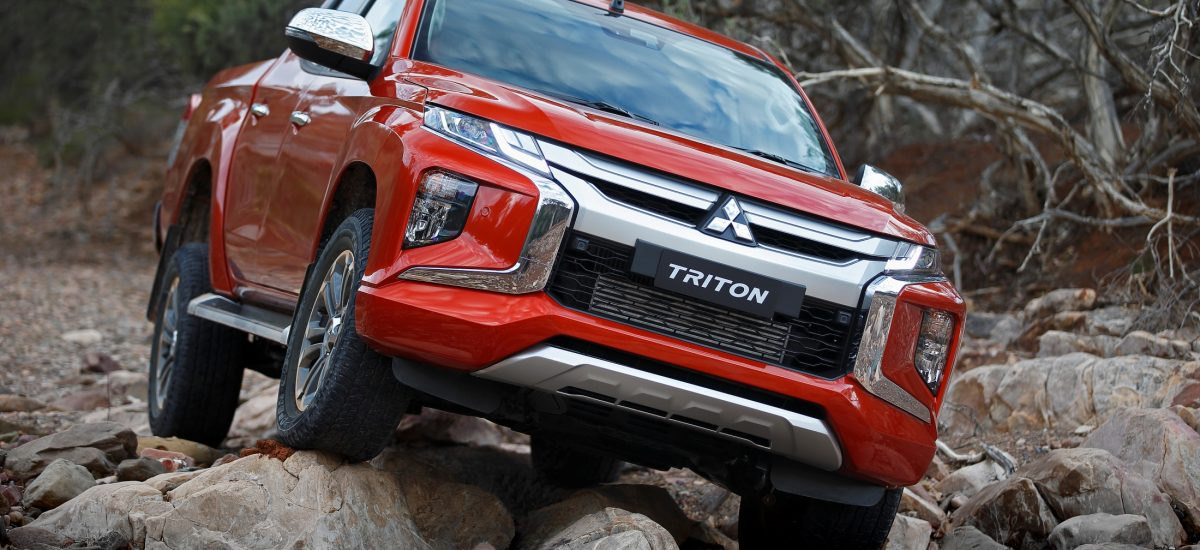 Mitsubishi L200 restyling frontale