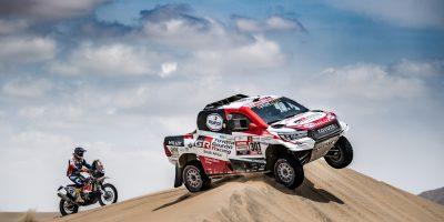 Dakar 2019: vince Toyota con il pick-up Hilux