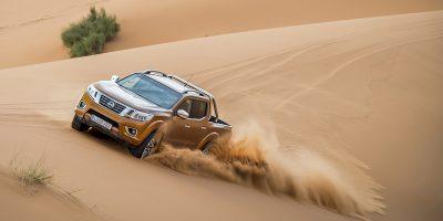 Nissan Navara, il test drive nel deserto del Sahara