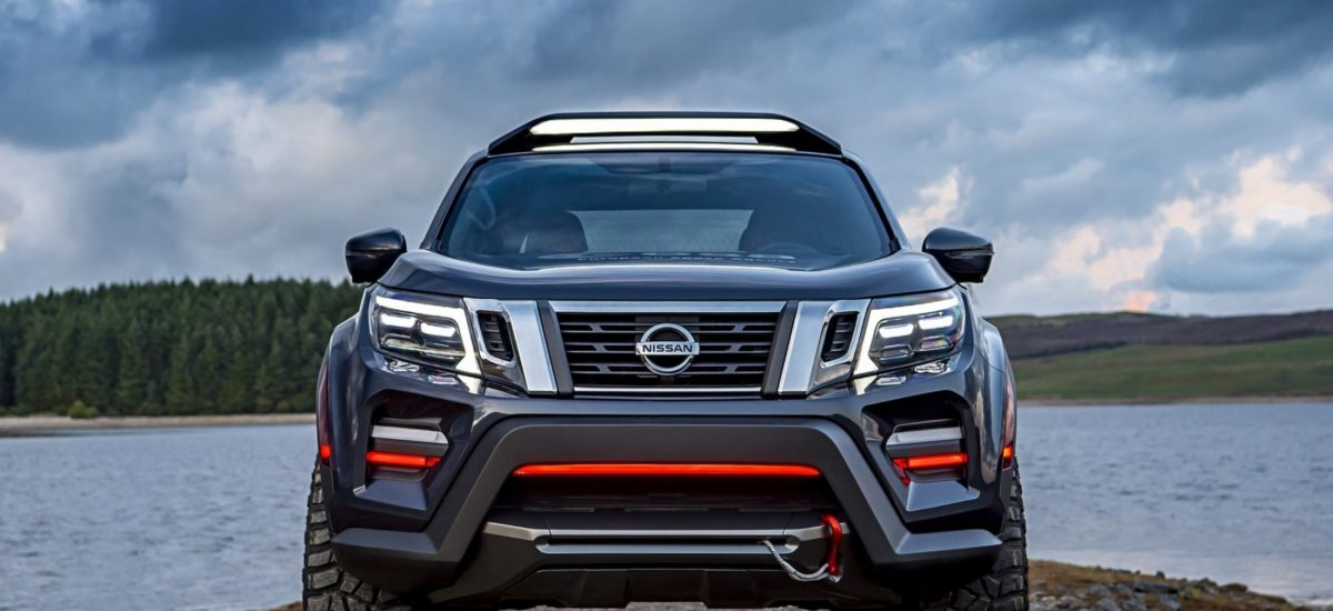 Nissan Navara Dark Sky Concept frontale