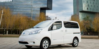 Nissan e-NV200 Van: più autonomia per il furgone elettrico giapponese
