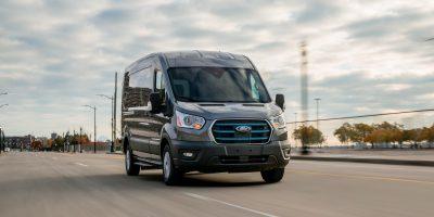 Ford E-Transit, la versione 100% elettrica del veicolo commerciale più venduto