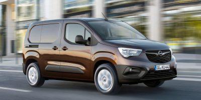 Opel Combo Van: le foto e i dati del furgone tedesco