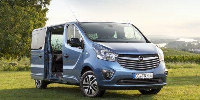 Vivaro Life, il camper Opel