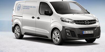 Nuovo Opel Vivaro-e HYDROGEN, l'elettrico da zero emissioni