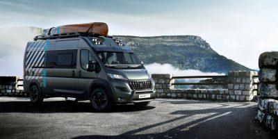 Peugeot Boxer 4×4 Concept: camper fuoristrada