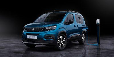 Peugeot e-RIFTER. Prosegue l'elettrificazione dei veicoli commerciali
