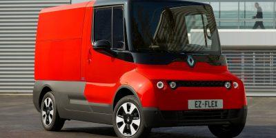 Renault EZ-Flex Concept: l'evoluzione del furgoncino elettrico
