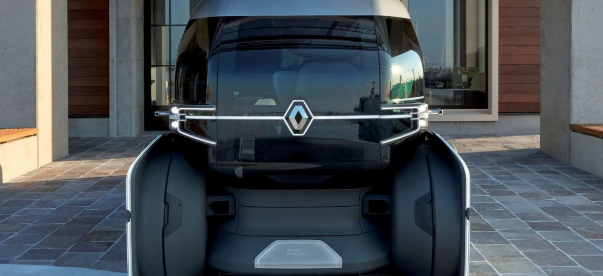Renault EZ-PRO Concept frontale