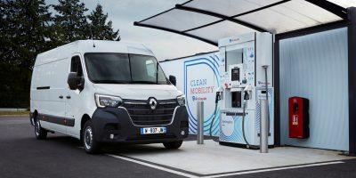 Veicoli commerciali Renault: arriva l'idrogeno range extender per Kangoo e Master Z.E.