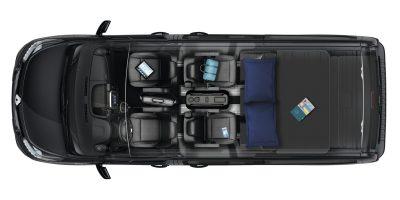 Camper Renault: arriva il Trafic SpaceClass Escapade