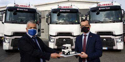 Aliberti Trasporti sceglie Renault Trucks