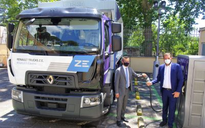 Renault Trucks ed Enel per la mobilità elettrica